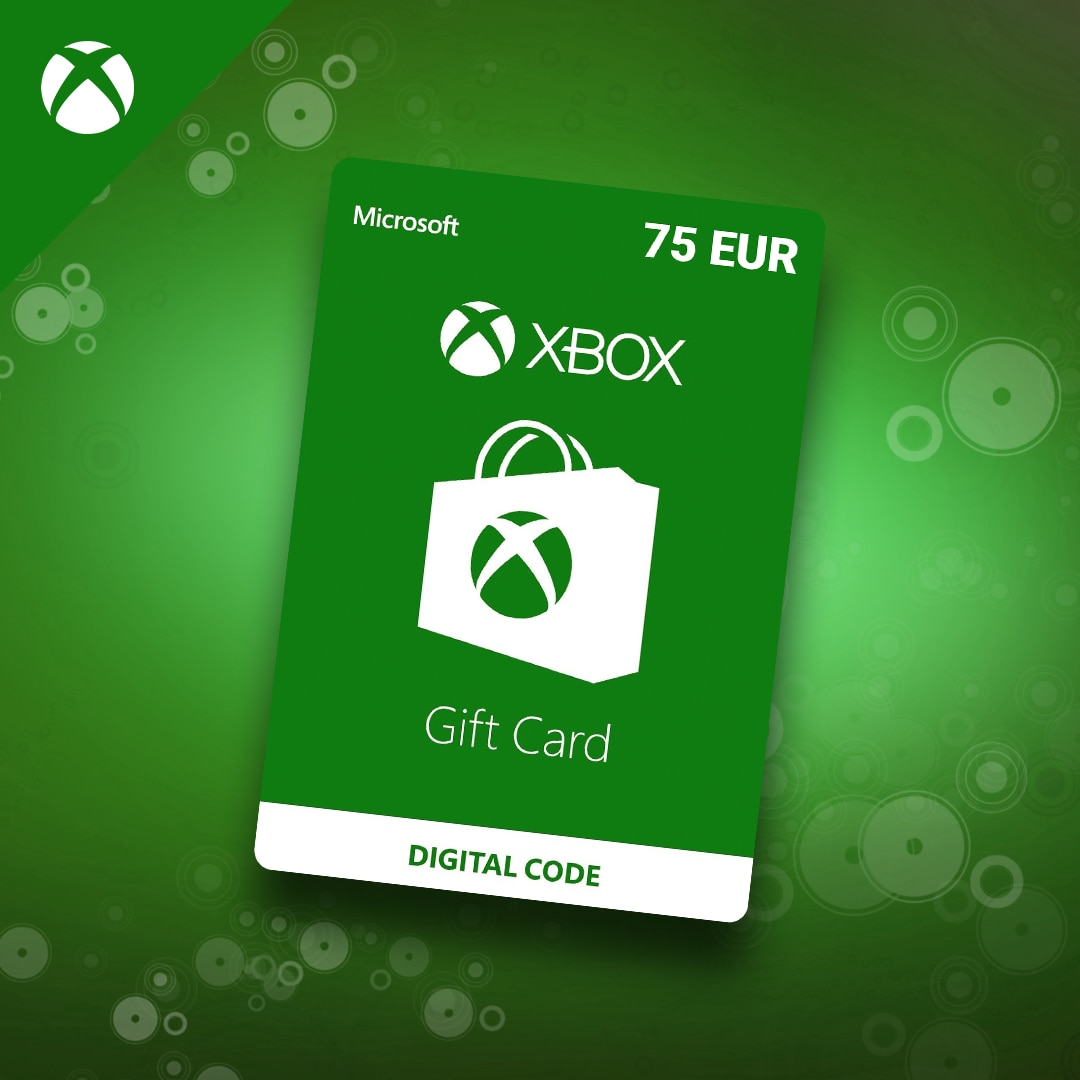 XBOX Live Gift Card 75 EUR - Xbox Live Key - EUROPE - 3