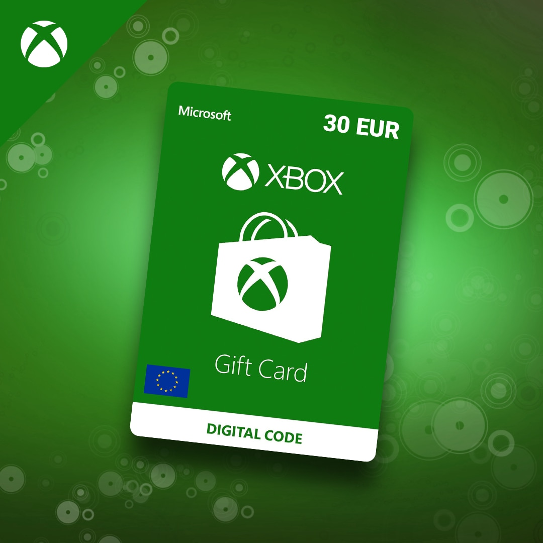 XBOX Live Gift Card 30 EUR Xbox Live Key EUROPE - 3