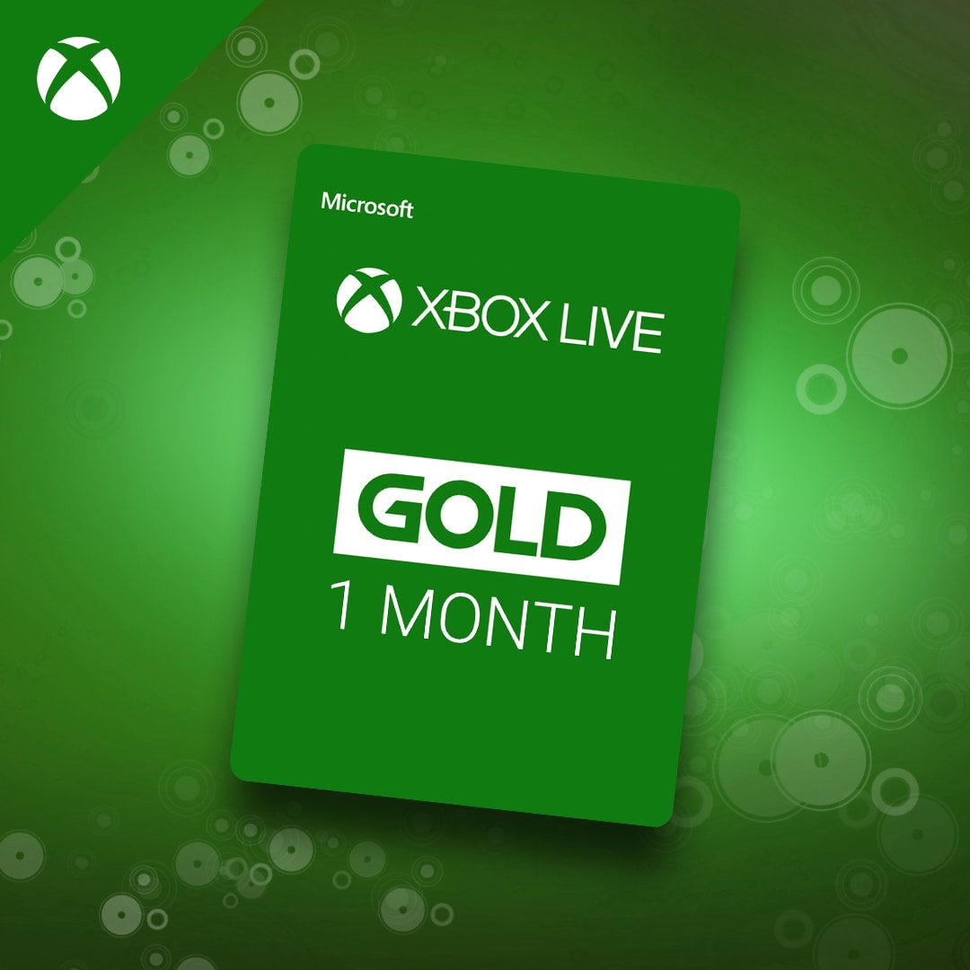 Xbox Live GOLD Subscription Card 1 Month Xbox Live GLOBAL - 3