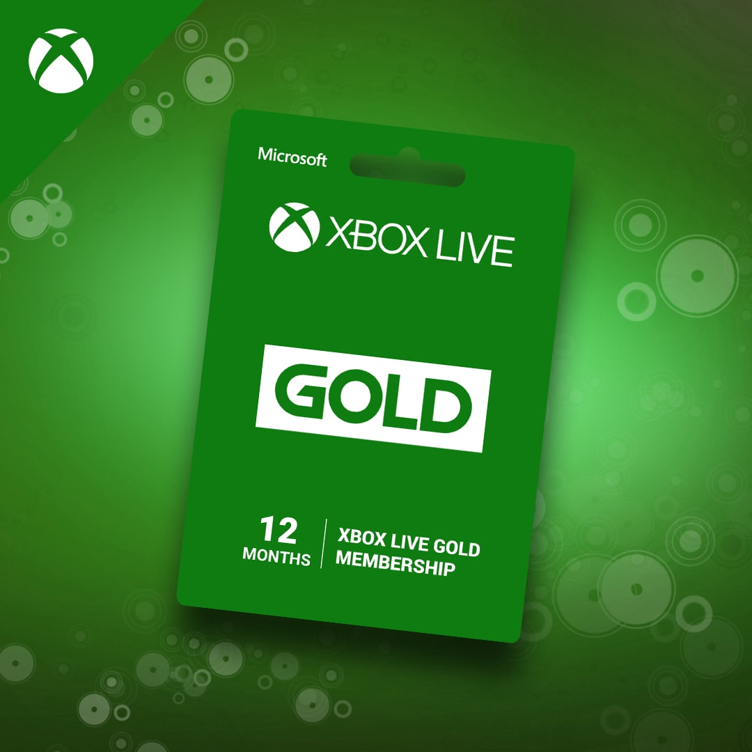 Xbox Live GOLD Subscription Card 12 Months - Xbox Live Key - EUROPE - 2