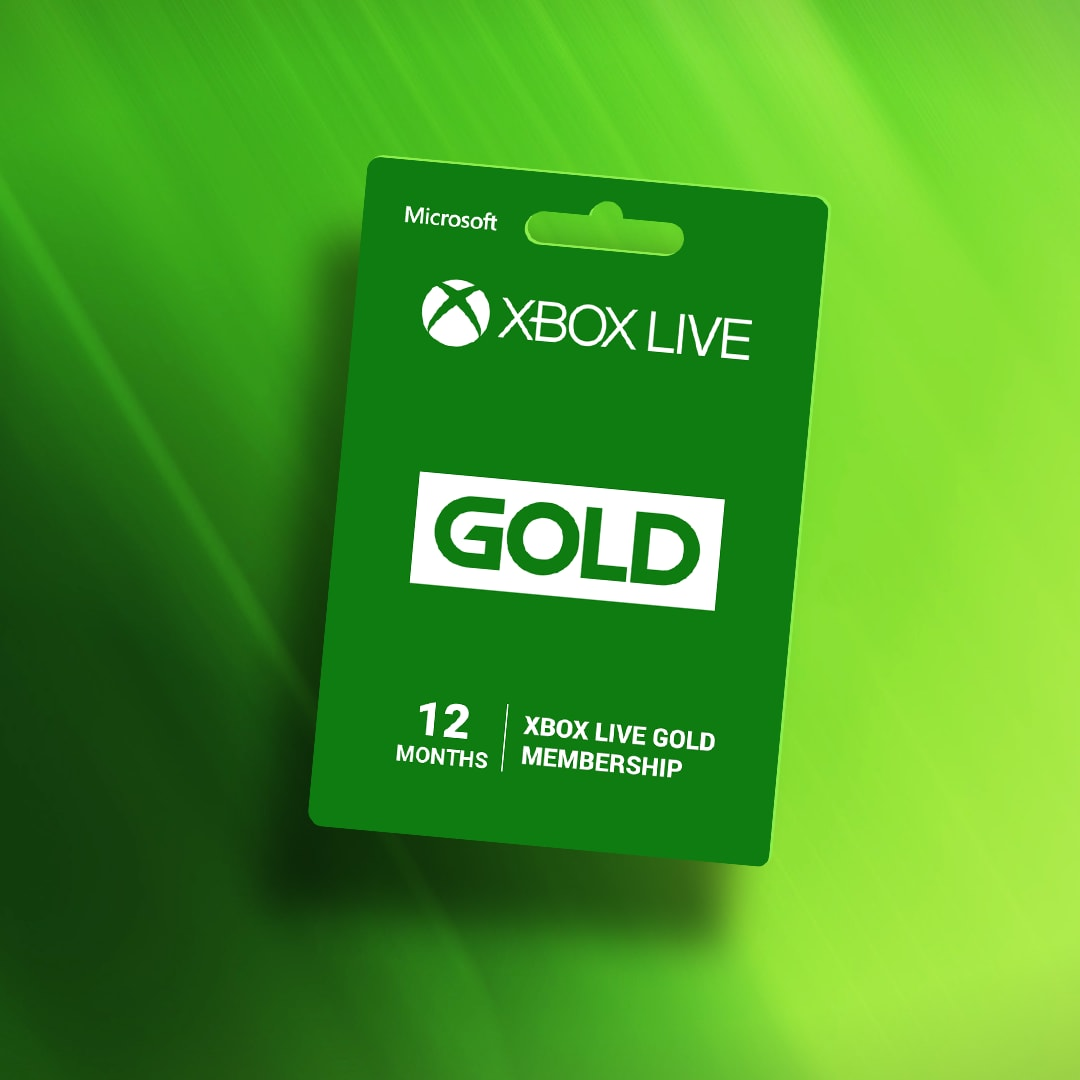 Xbox Live GOLD Subscription Card 12 Months - Xbox Live Key - GLOBAL - 2