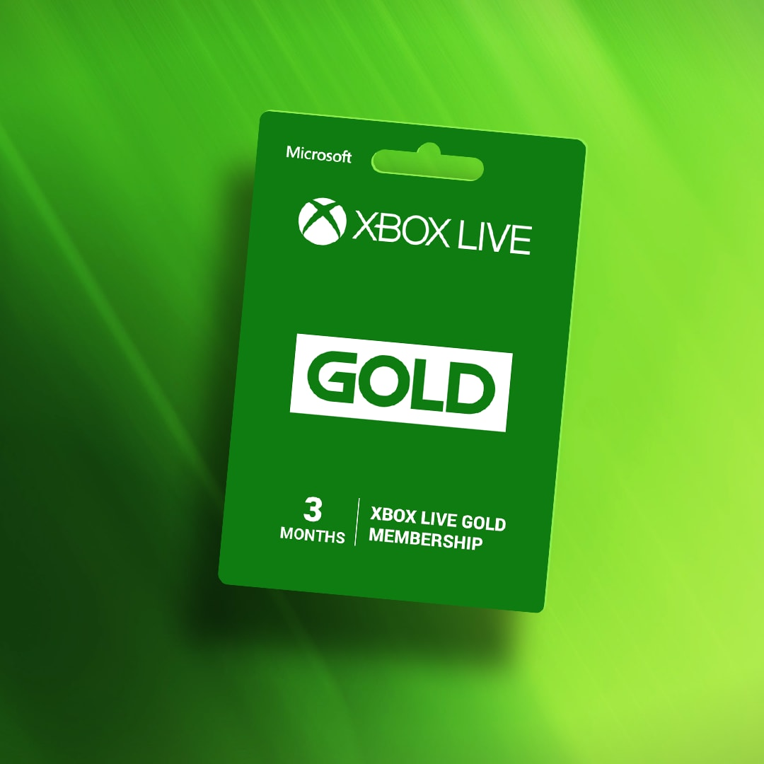 Xbox Live GOLD Subscription Card 3 Months - Xbox Live Key - GLOBAL - 2