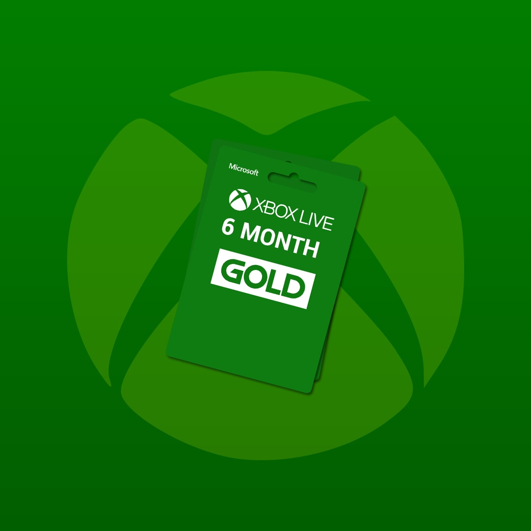 Xbox Live GOLD Subscription Card 6 Months Xbox Live GLOBAL - 3