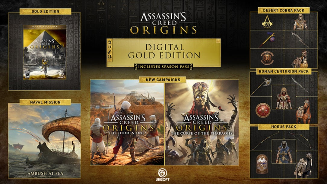 Assassin's Creed Origins   Gold Edition (PC) - Ubisoft Connect Key - NORTH AMERICA - 2