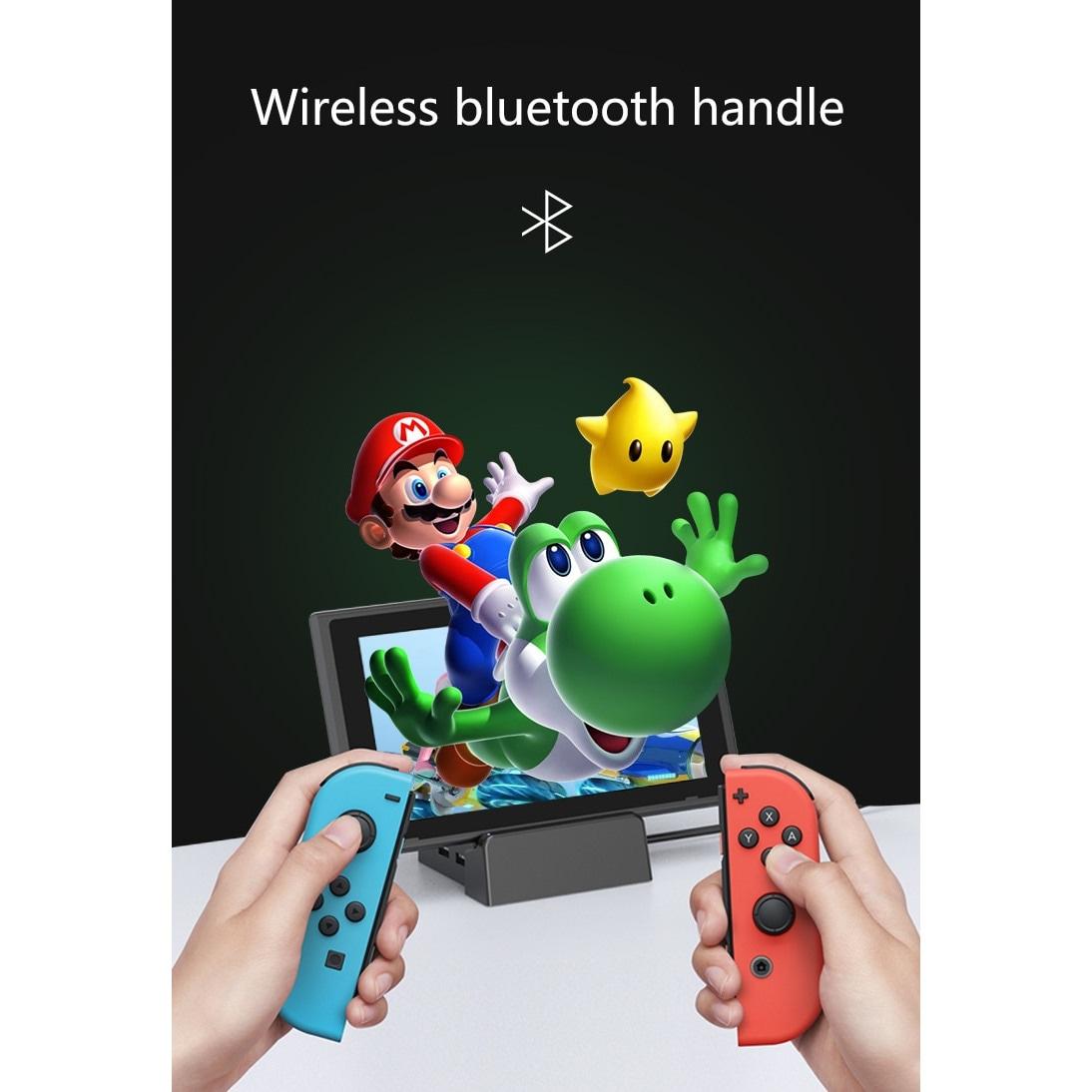 Wireless Joysticks for Nintendo Switch (L and R) Green - 5