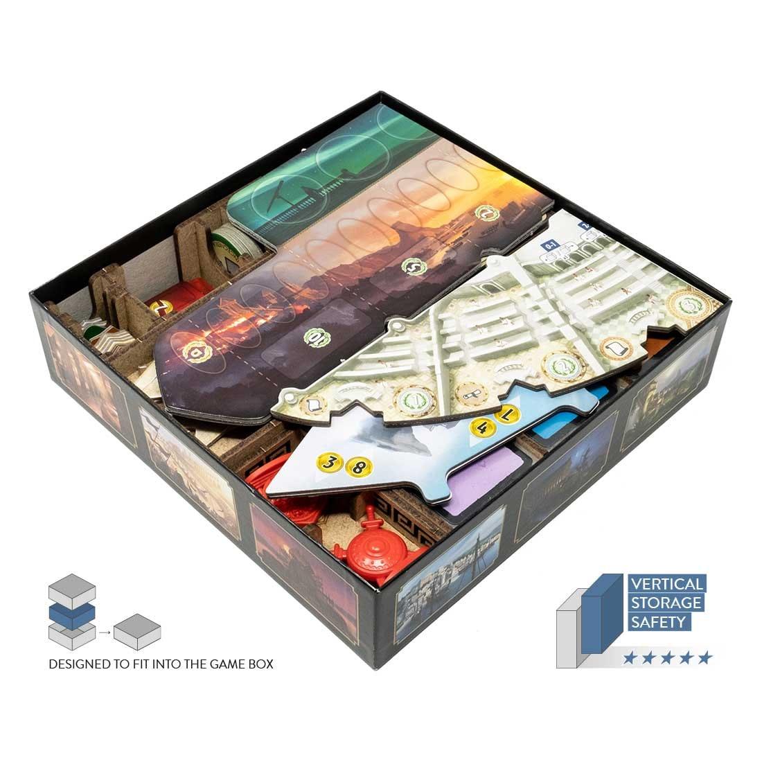 7 Wonders – Duel (Base Game Or With Pantheon; Agora Exp) Organizer Insert - 3