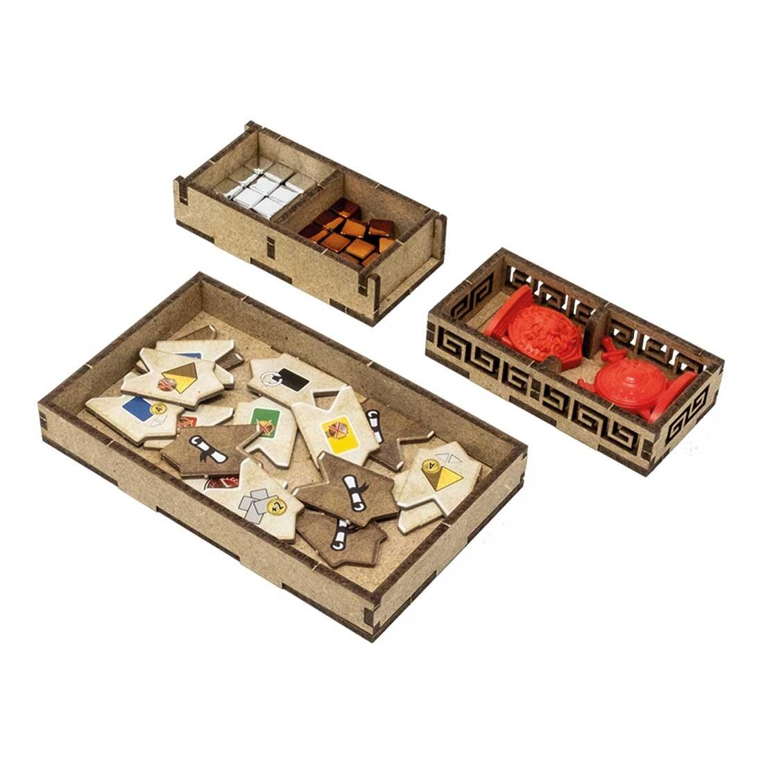 7 Wonders – Duel (Base Game Or With Pantheon; Agora Exp) Organizer Insert - 7