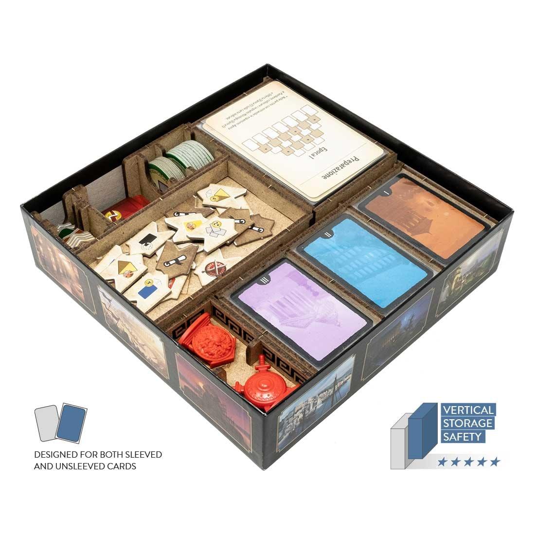 7 Wonders – Duel (Base Game Or With Pantheon; Agora Exp) Organizer Insert - 2