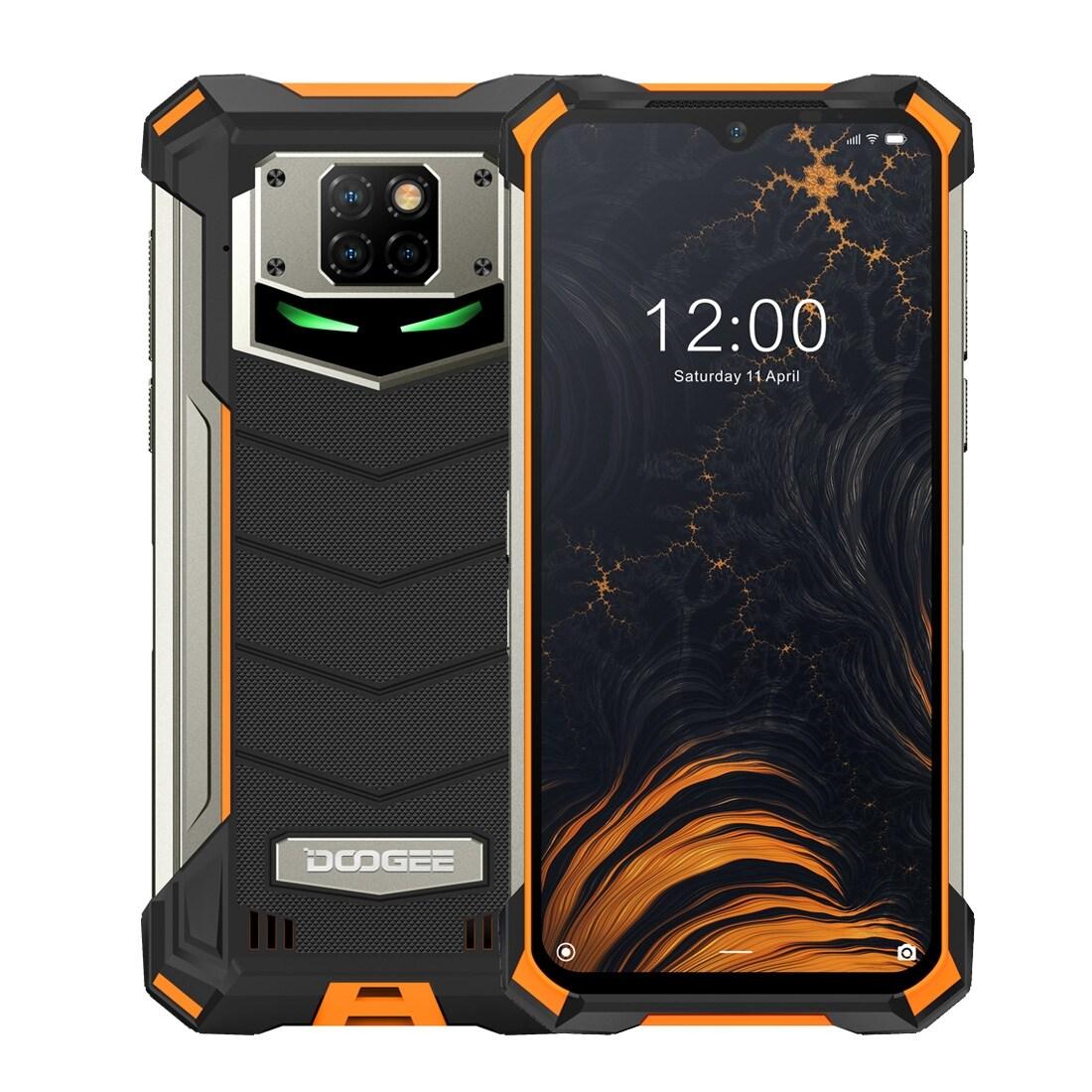 DOOGEE S88 Pro Rugged Phone, 6GB+128GB ( Orange ) - 1