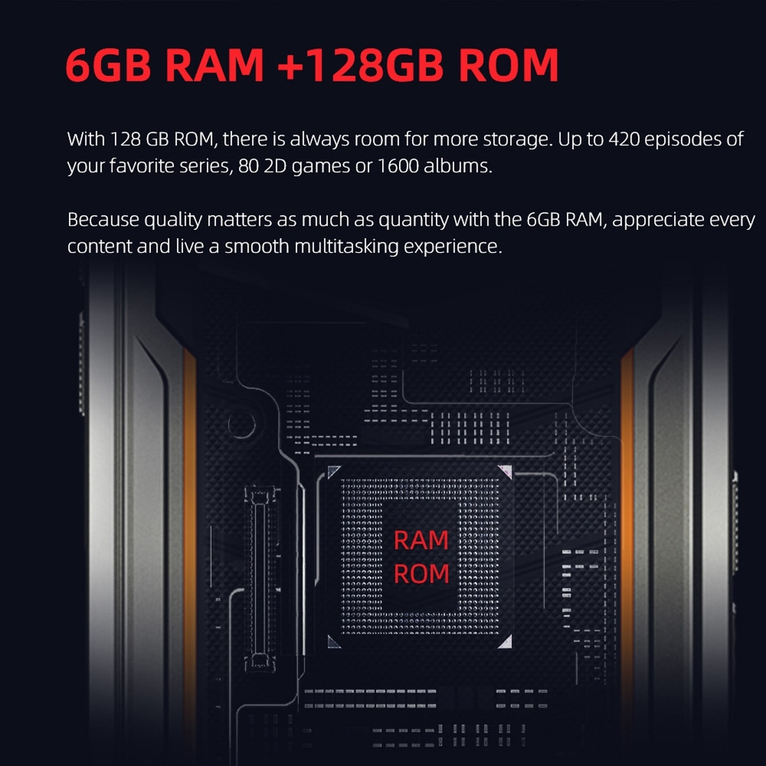 DOOGEE S88 Pro Rugged Phone, 6GB+128GB ( Orange ) - 8
