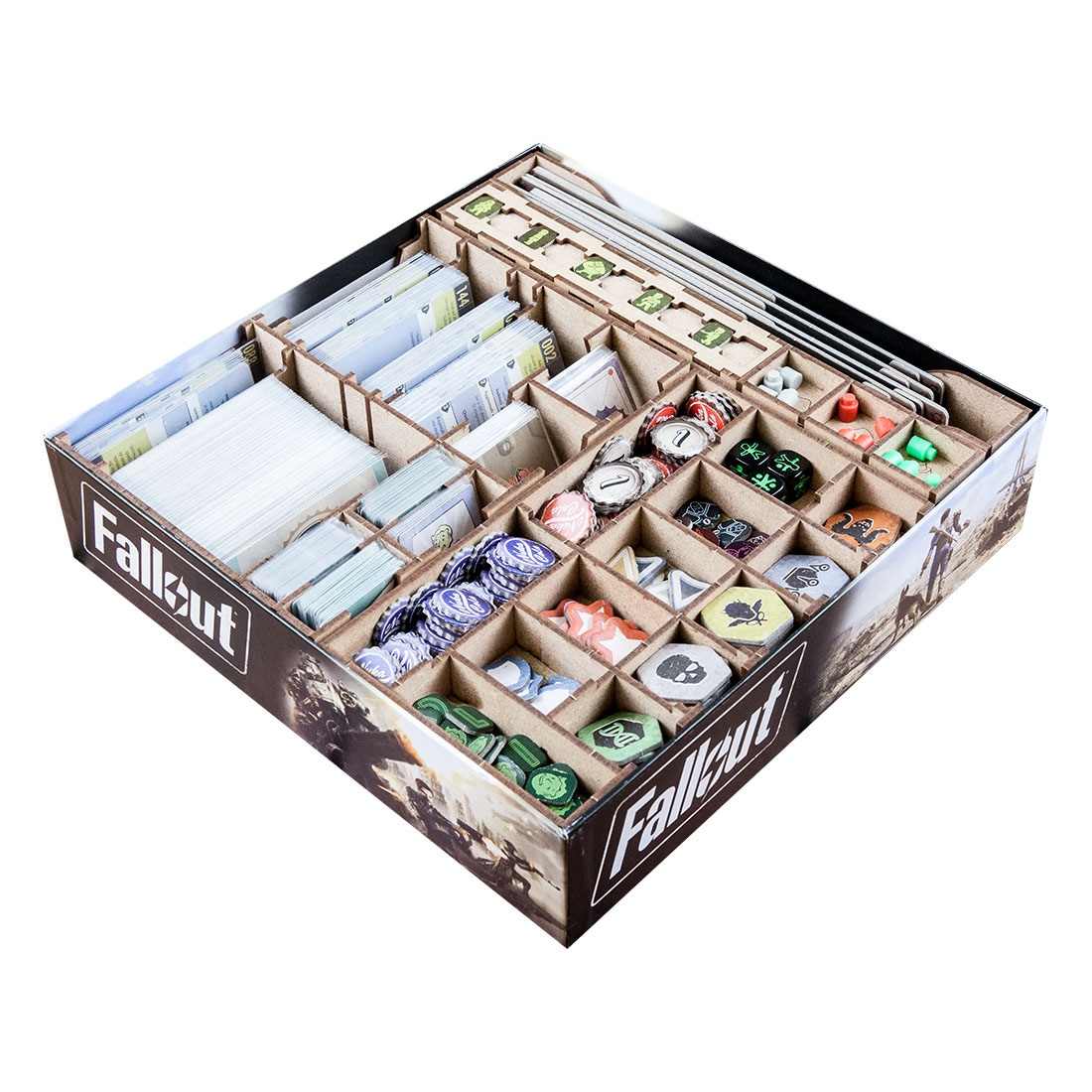 Fallout (base game or with New California expansion) Organizer Insert - 2