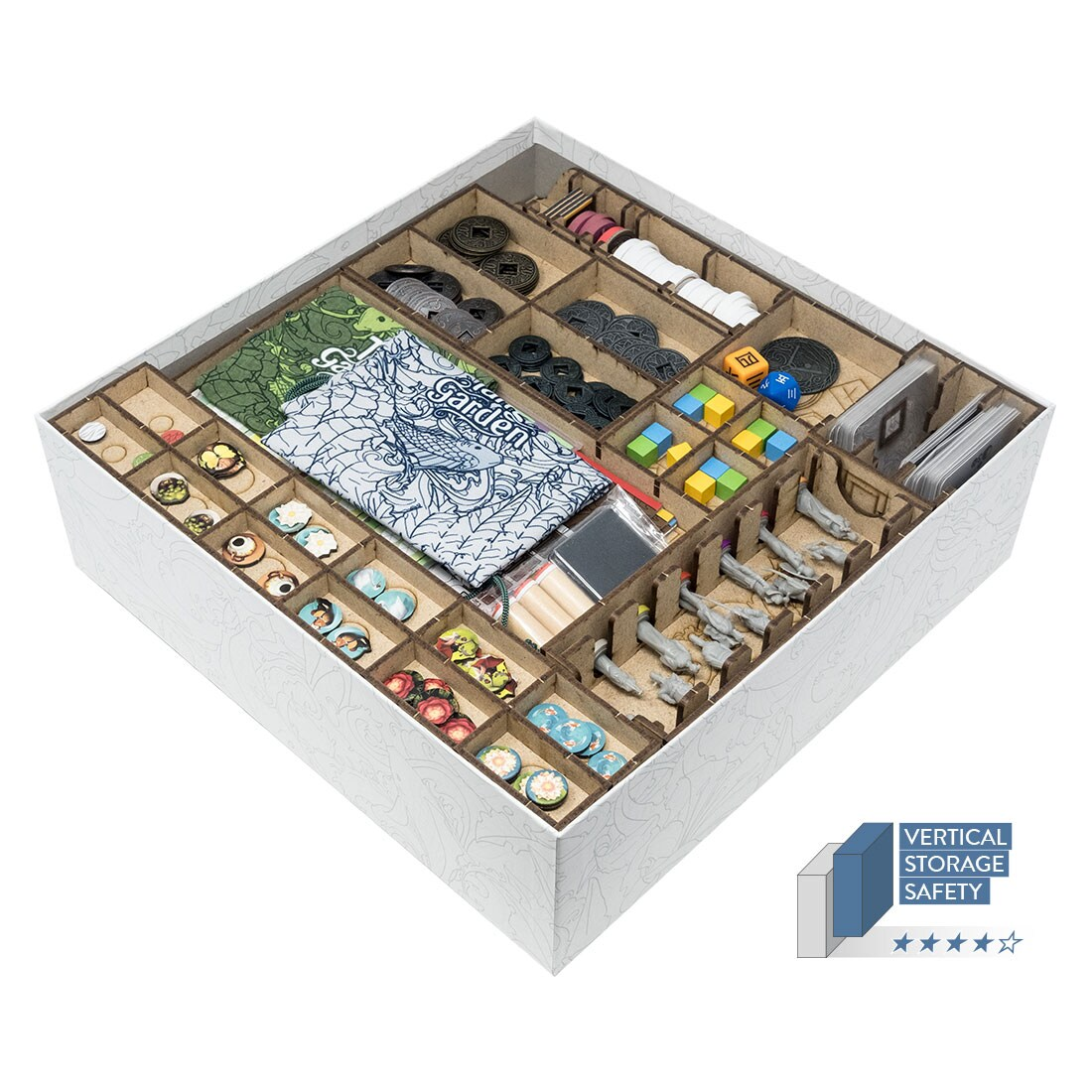 Tang Garden (Base Game Or With Ghost Stories; Golden Age Exp) Organizer Insert - 3