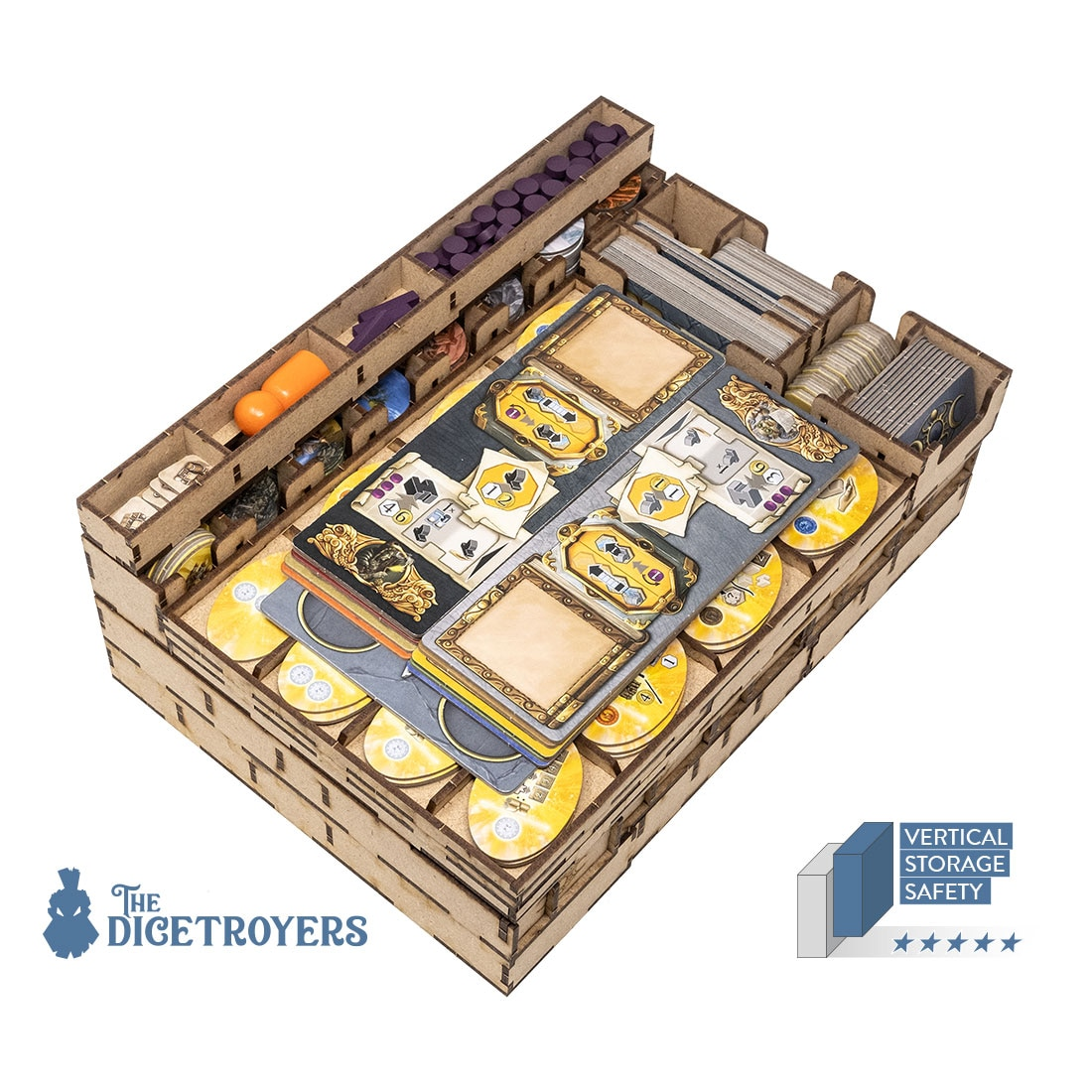 Terra Mystica All In (base + Merchants of the Seas; Fire & Ice exp)Organizer Insert - 2