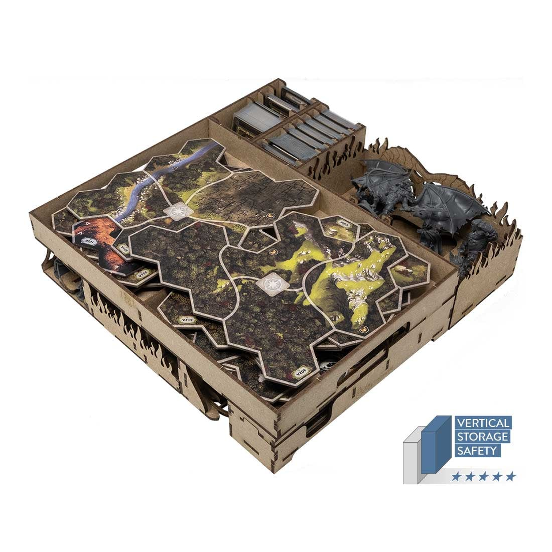 The Lord Of The Rings: Journeys In Middle-Earth Expansions Organizer Insert - 1