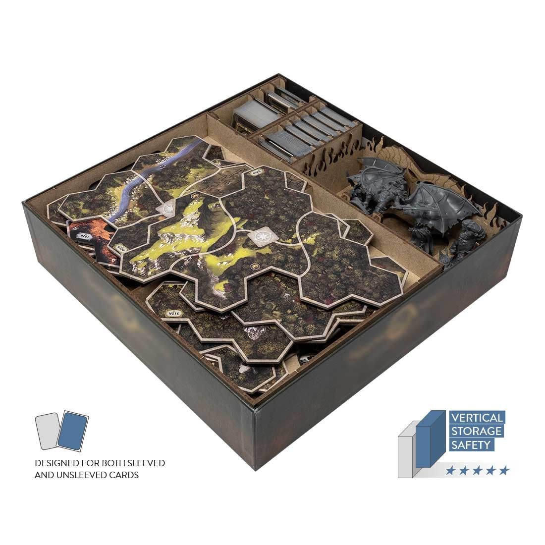 The Lord Of The Rings: Journeys In Middle-Earth Expansions Organizer Insert - 2
