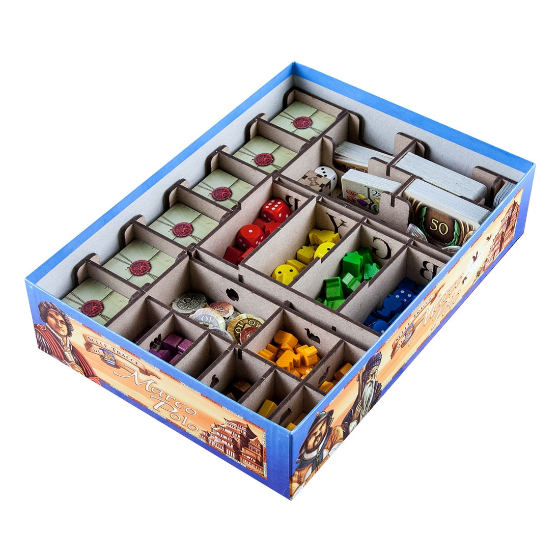 The Voyages of Marco Polo Organizer Insert - 2