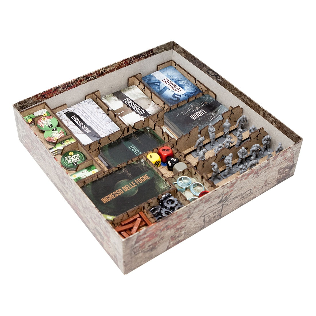 This war of mine (base game or with exp Tales from the Ruined City) Organizer Insert - 2