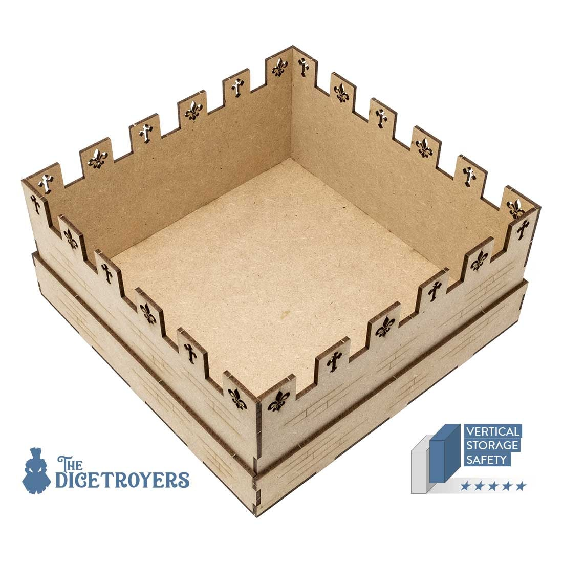 Viscounts Of The West Kingdom (Base Game Or With The West Kingdom Tomesaga Exp) Organizer Insert+Lifted Base - 5