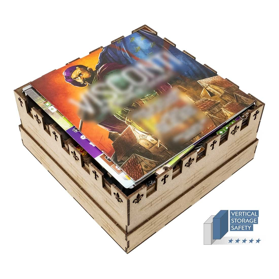 Viscounts Of The West Kingdom (Base Game Or With The West Kingdom Tomesaga Exp) Organizer Insert+Lifted Base - 6