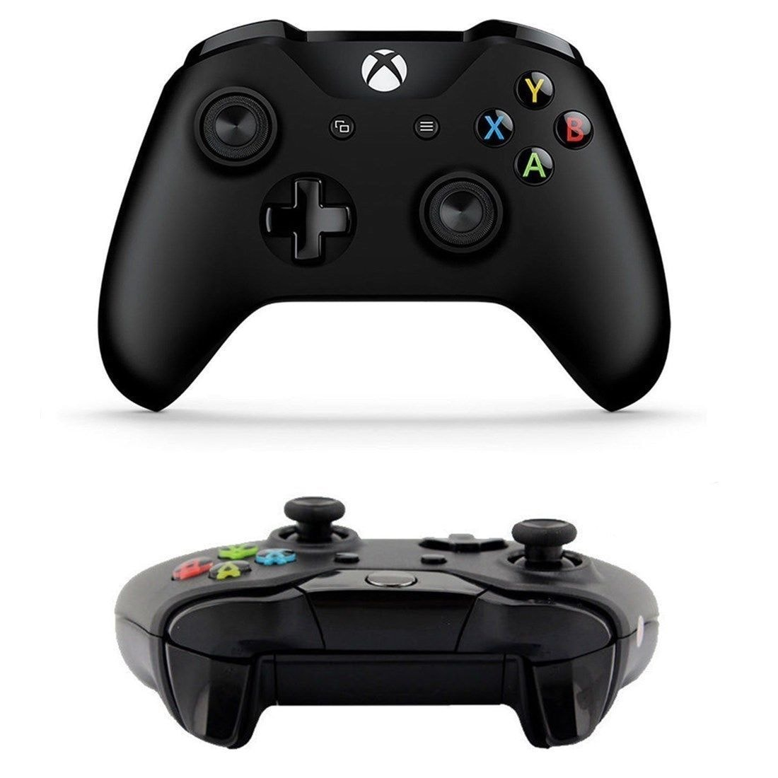 Xbox One Black Bluetooth Wireless Microsoft Controller with 3. 5mm Headset Jack - 2