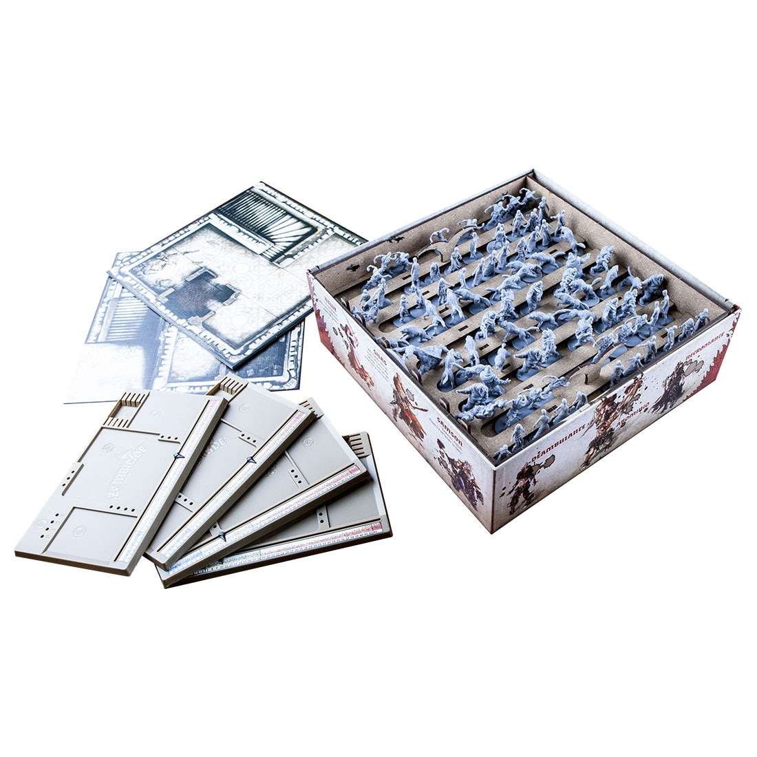 Zombicide Black Plague (base game or with Wulfsburg expansion) Organizer Insert - 2