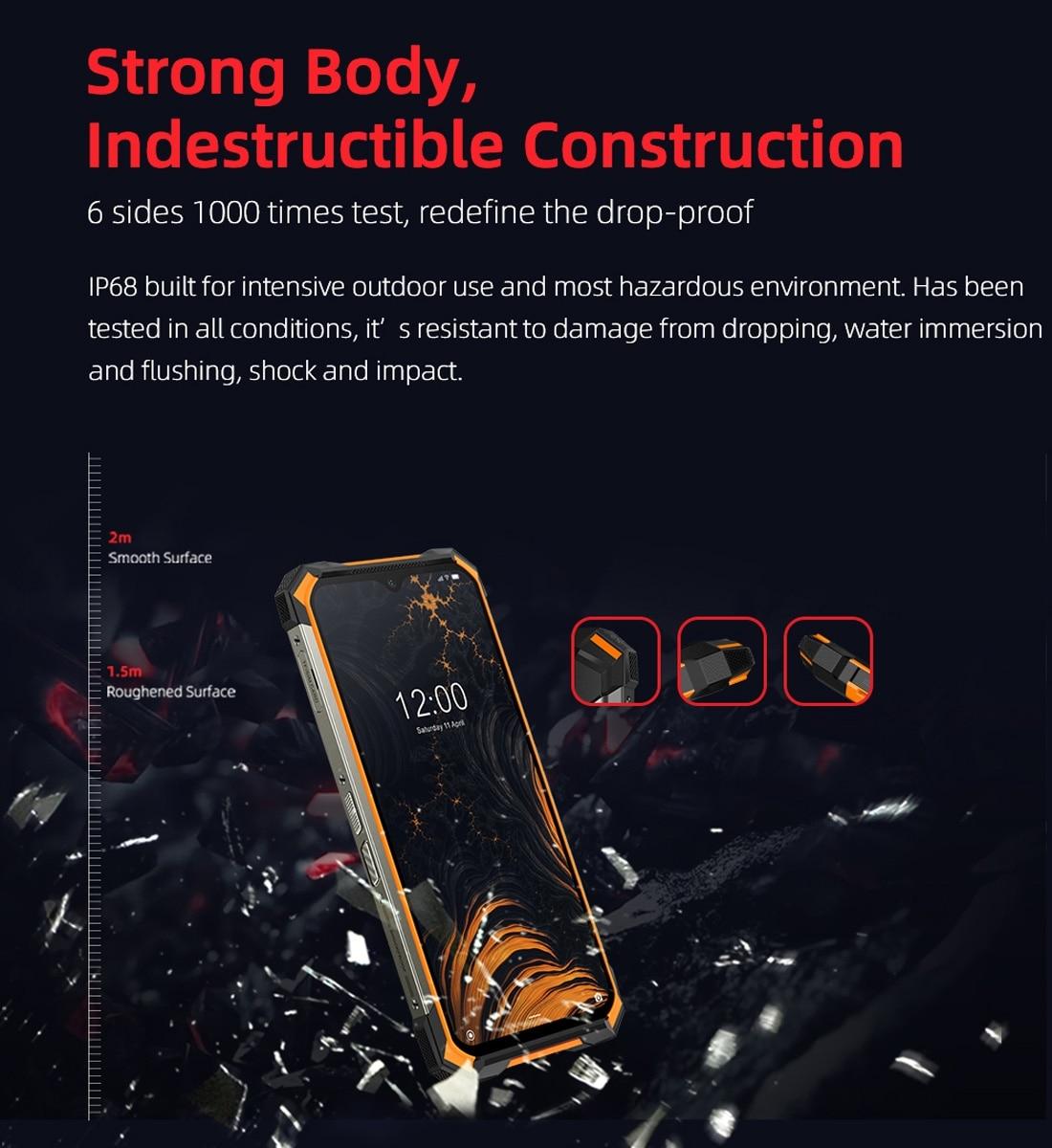 DOOGEE S88 Pro Rugged Phone, 6GB+128GB ( Orange ) - 5