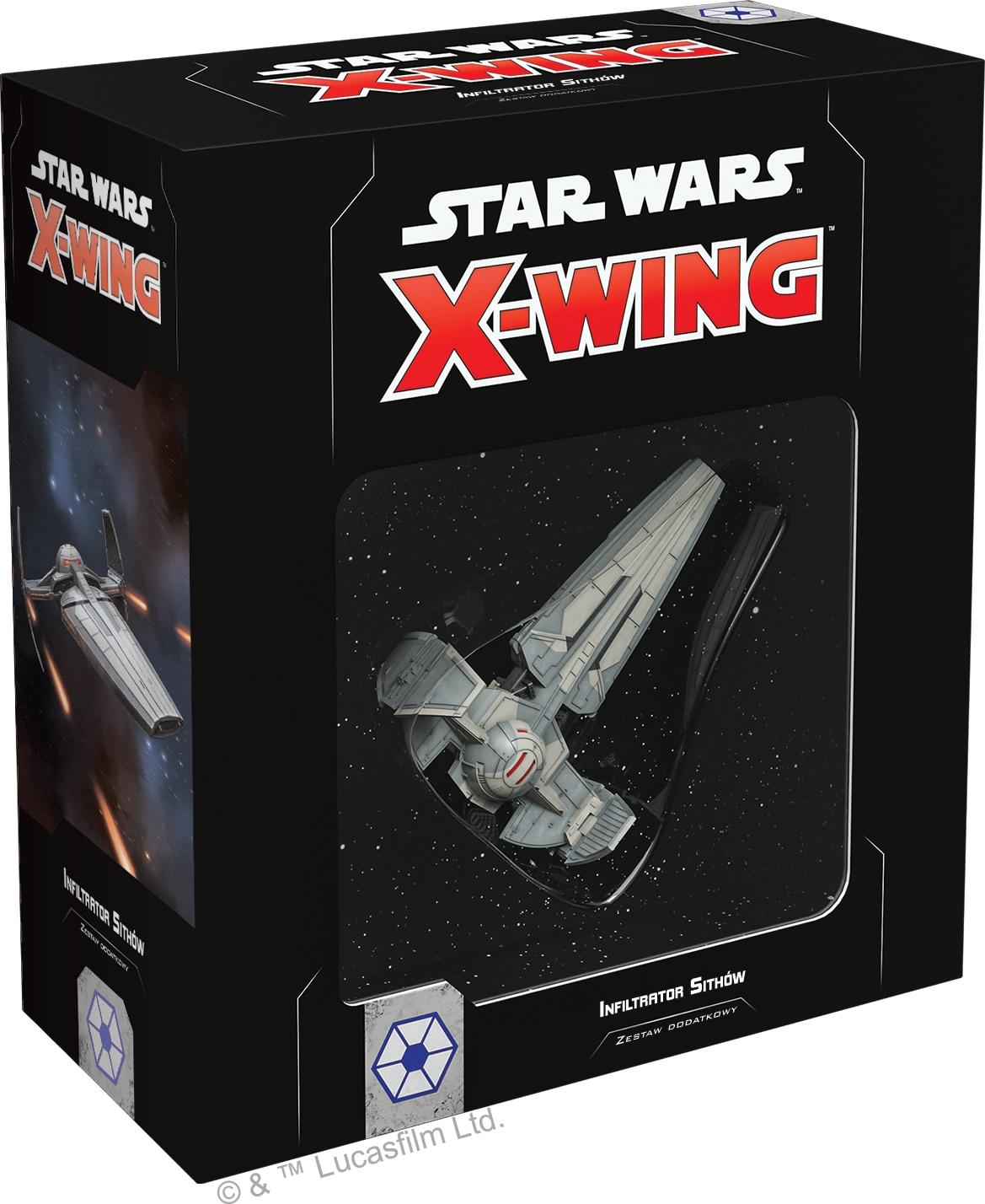 Star Wars X-Wing II edycja- Infiltrator Sithów - 1