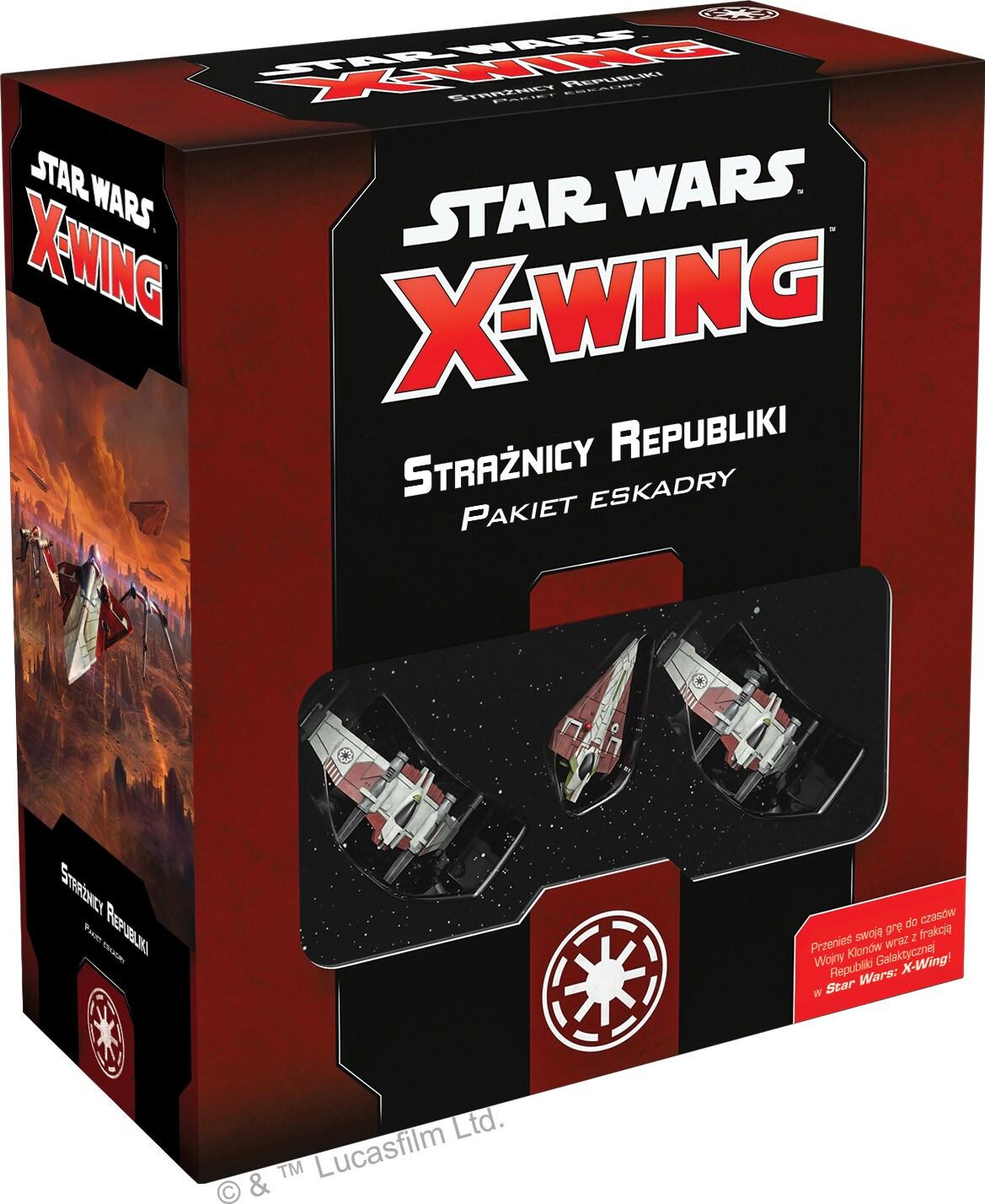 Star Wars: X-Wing - Pakiet eskadry - Strażnicy Republiki - 1