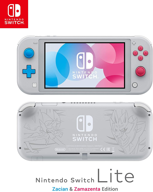 Nintendo Switch Console Lite Zacian & Zamezenta Editin UK Brand new & Sealed White 32 GB - 2