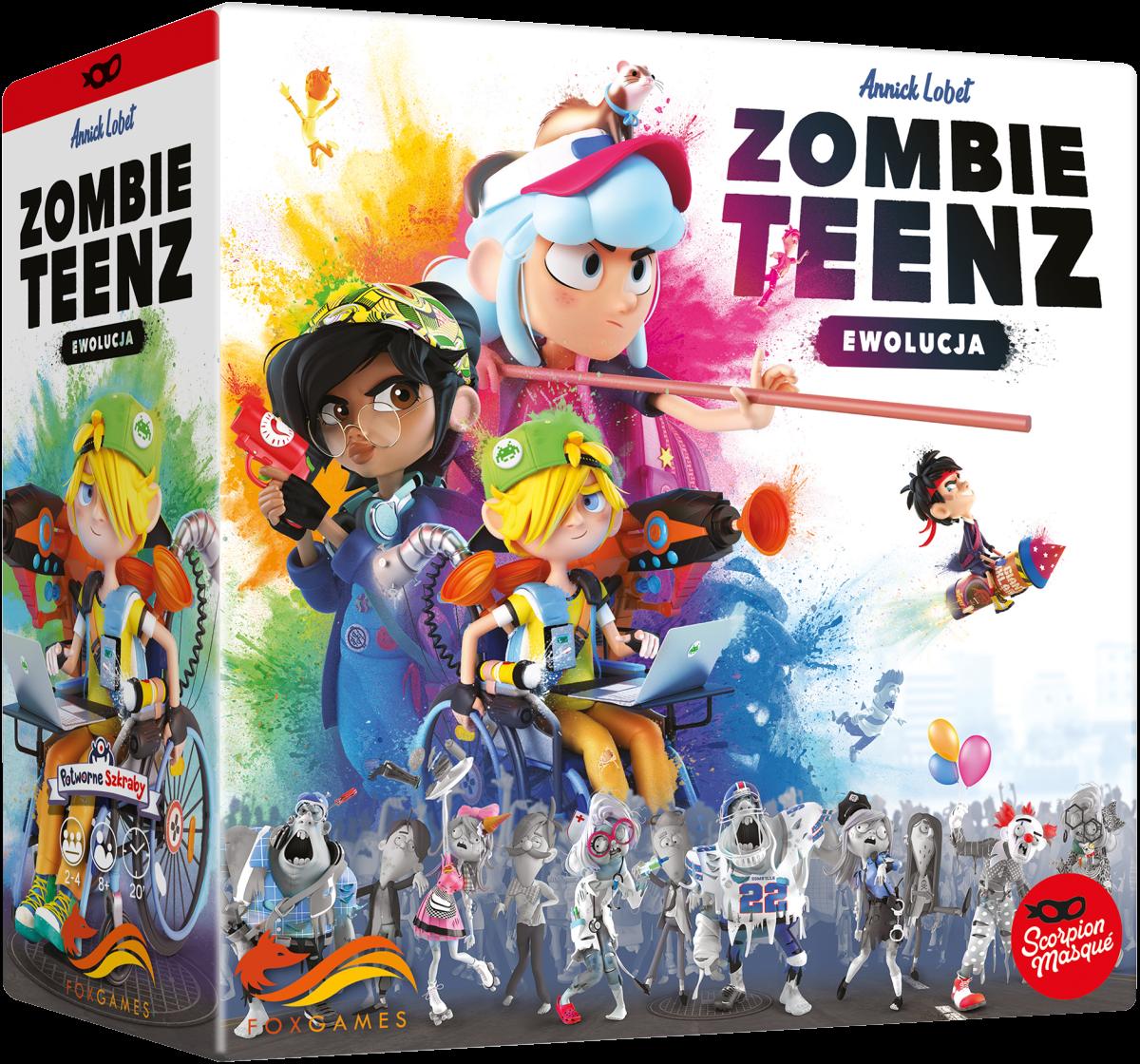 Zombie Teenz: Ewolucja - 1