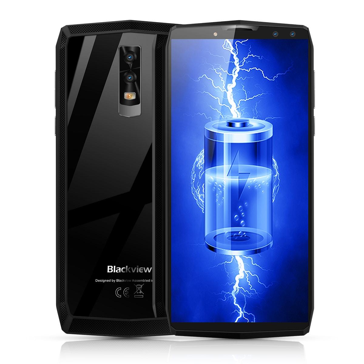 Blackview P10000 Pro 5.99 Inch FHD+ Full Screen 4GB RAM + 64GB ROM MT6763 Octa Core Smartphone Glass Black - 1
