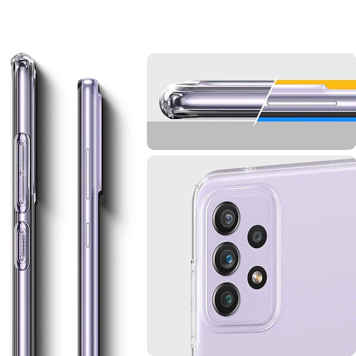 Etui Spigen Liquid Crystal do Samsung Galaxy A52 LTE/ 5G Crystal Clear - 9