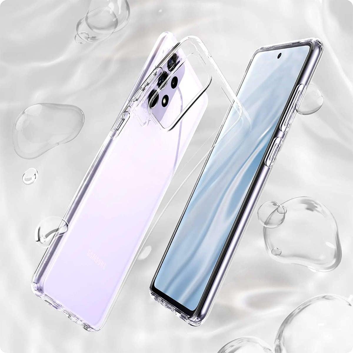 Etui Spigen Liquid Crystal do Samsung Galaxy A52 LTE/ 5G Crystal Clear - 11