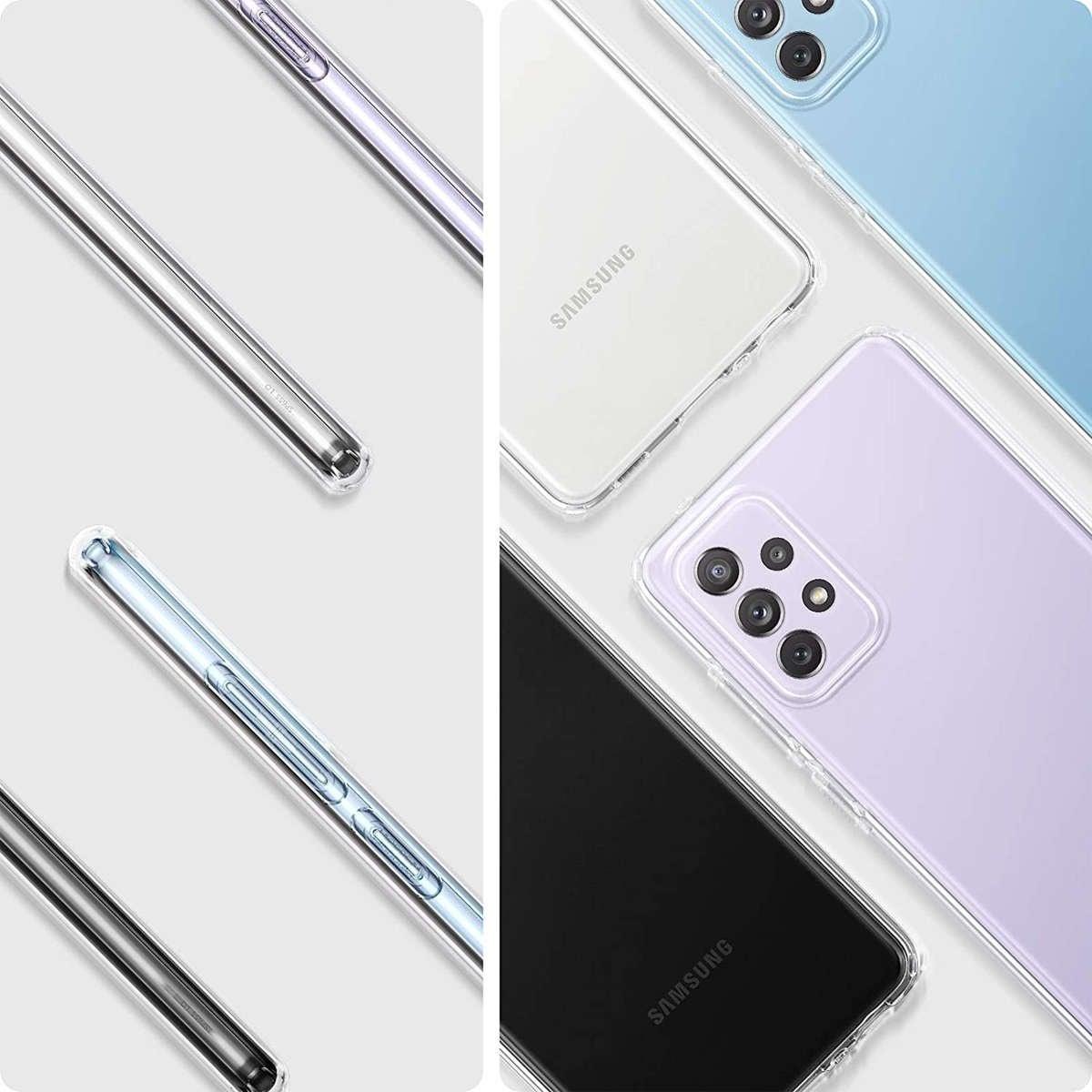 Etui Spigen Liquid Crystal do Samsung Galaxy A52 LTE/ 5G Crystal Clear - 10