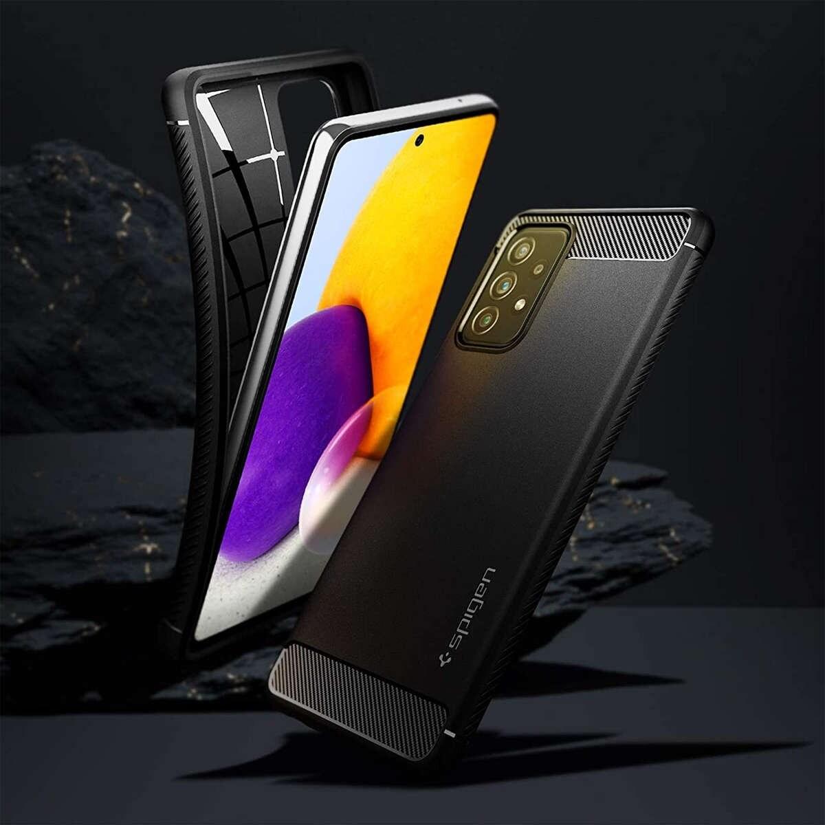 Etui Spigen Rugged Armor do Samsung Galaxy A32 LTE Matte Black - 10