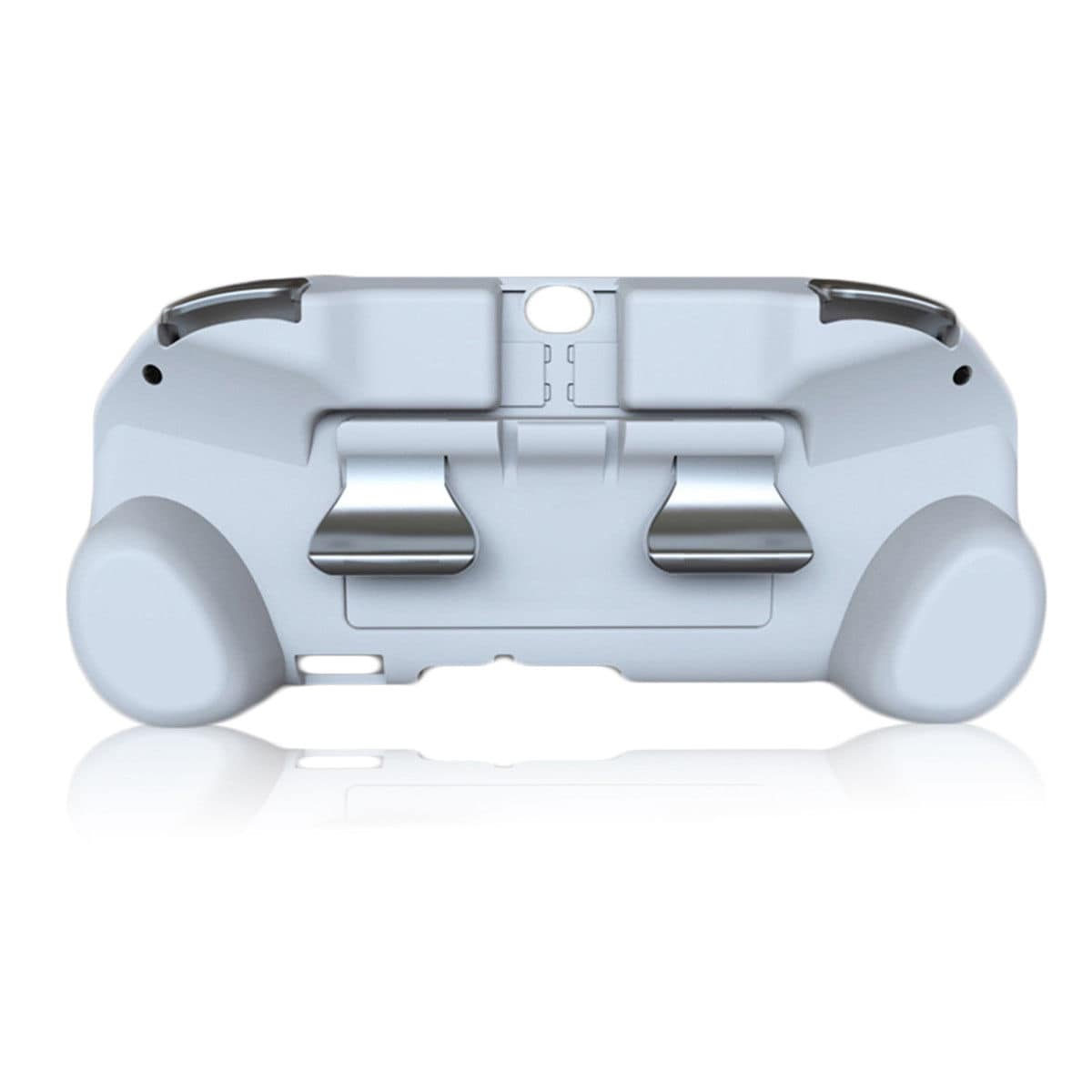 L2 R2 Hand Grip Handle Case & L3 R3 Trigger Button Touchpad White For PS VITA 2000 - 1