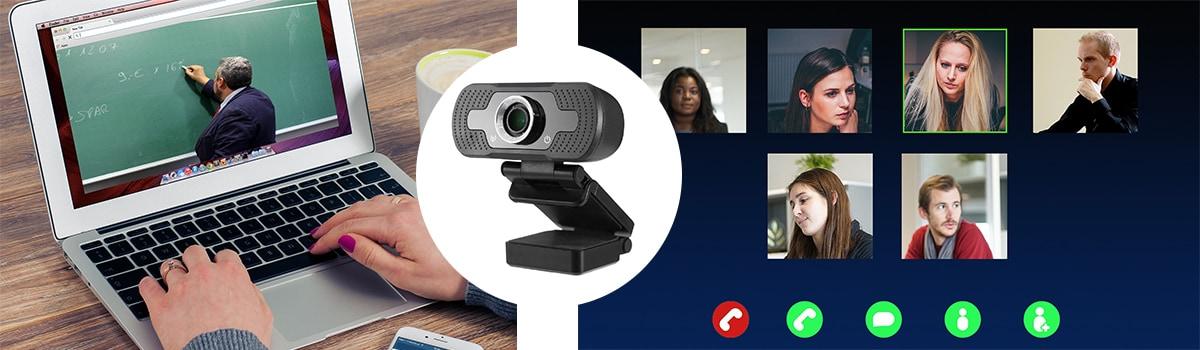 Webcam for Streaming Microphone Camera USB FHD SP-WCAM01 - 10