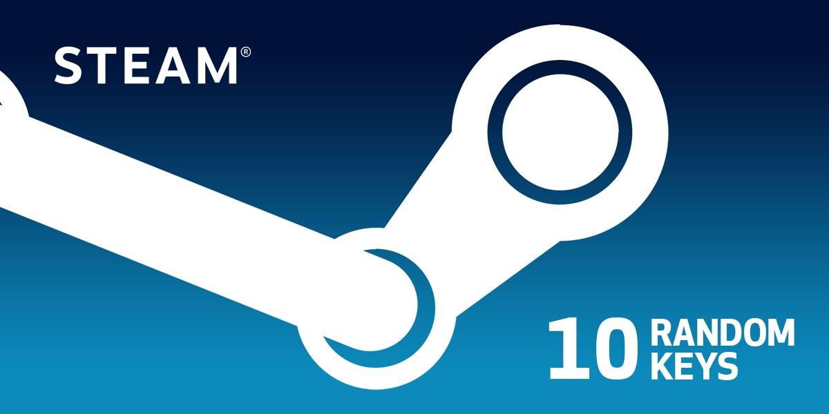 Random 10 Keys Steam Key GLOBAL - 1