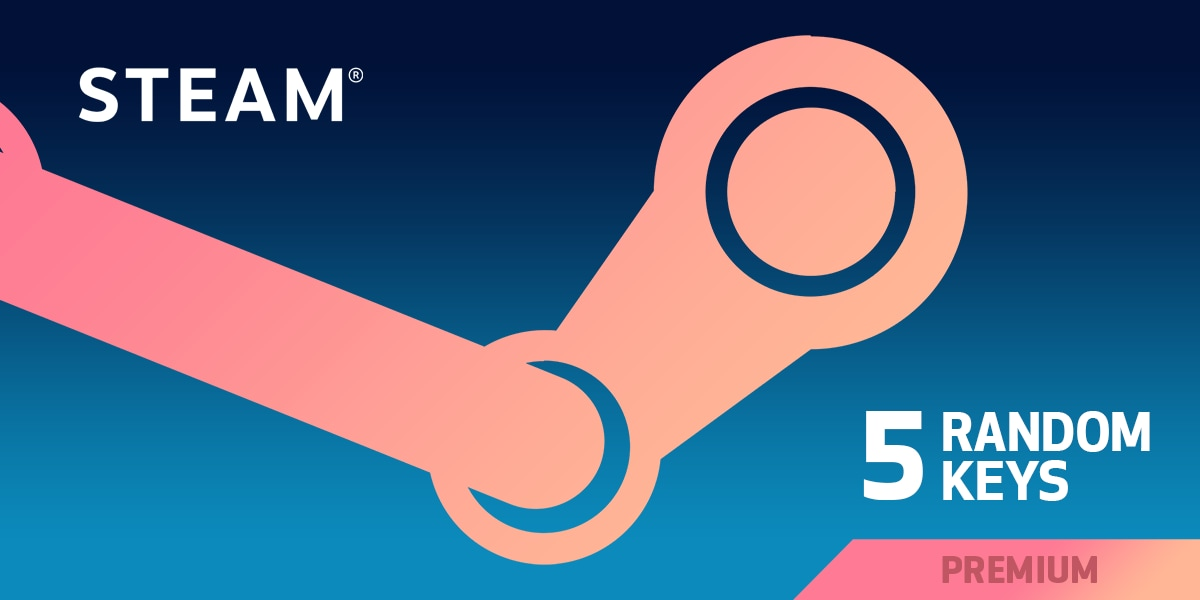 Random PREMIUM 5 Keys Steam Key GLOBAL - 1