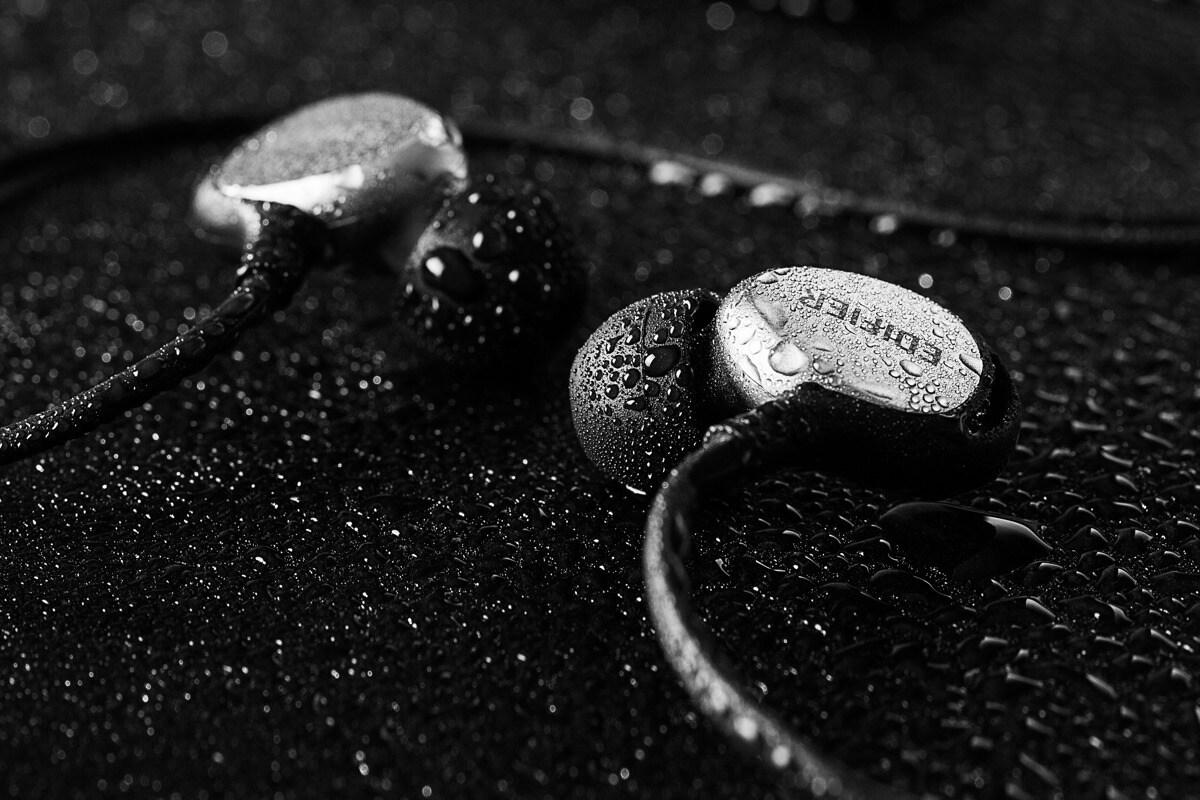 EDIFIER P281_SPORT Earbuds Silver/Black 1.3m - 3