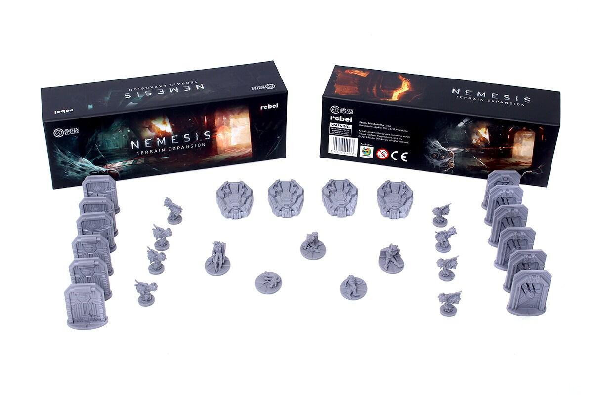 Nemesis: Terrain Pack - 1