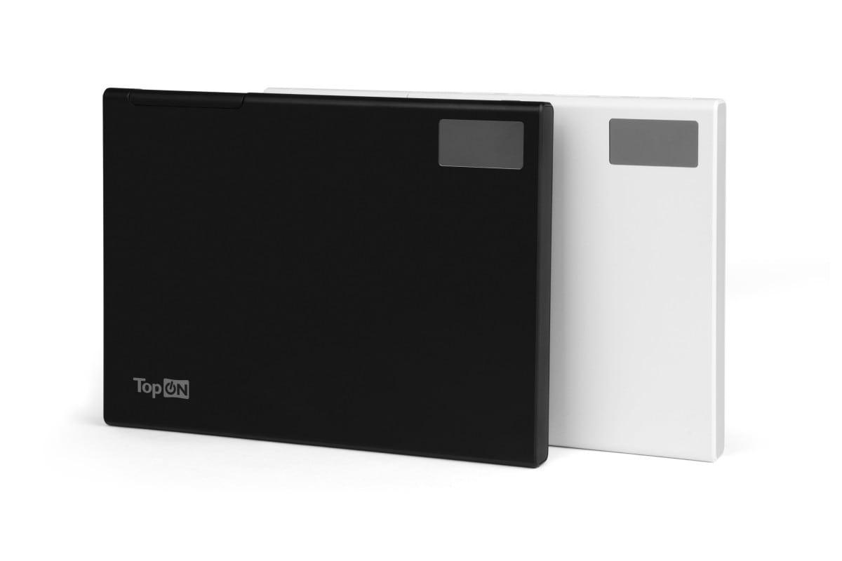 Power bank TopON TOP-MAX2 QC3.0, power delivery. USB Type-C, microUSB, 3 USB, black 30000mAh - 1