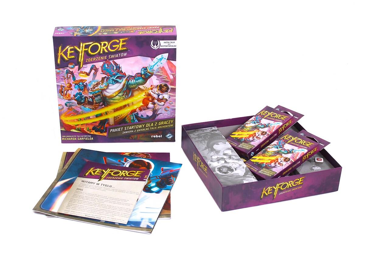 KeyForge: Zderzenie Światów - Pakiet startowy - 3