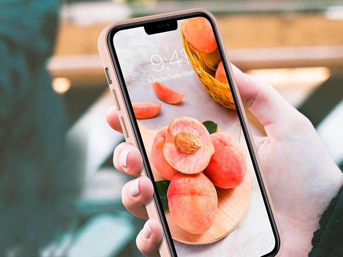 Etui silikonowe Ring Ultra Slim Alogy do iPhone 12 Pro Max 6.7 Różowe - 4