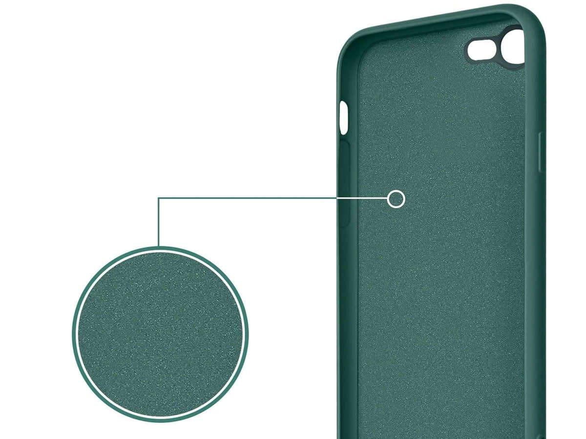 Etui silikonowe Ring Ultra Slim Alogy do iPhone SE 2020/ 8/ 7 Zielone - 6