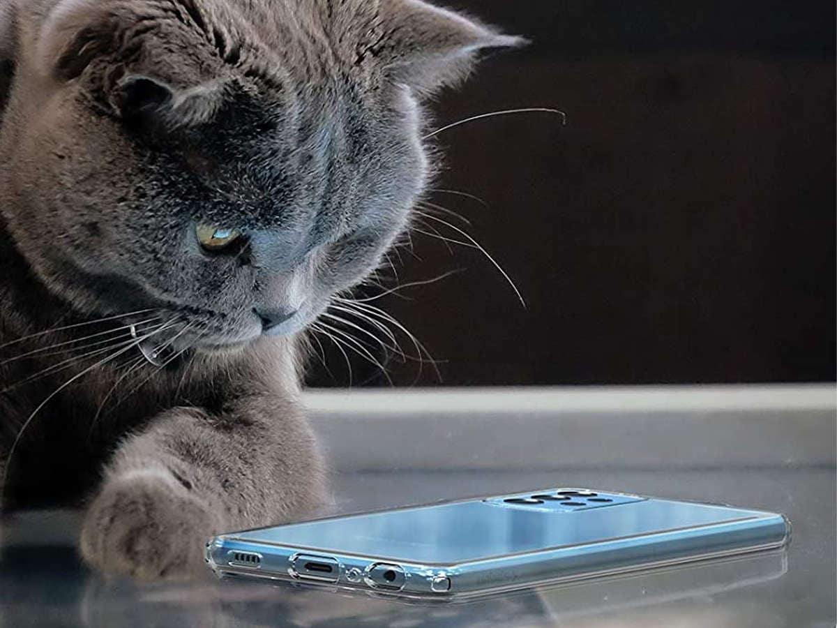 Etui Spigen Liquid Crystal do Samsung Galaxy A52 LTE/ 5G Crystal Clear - 7