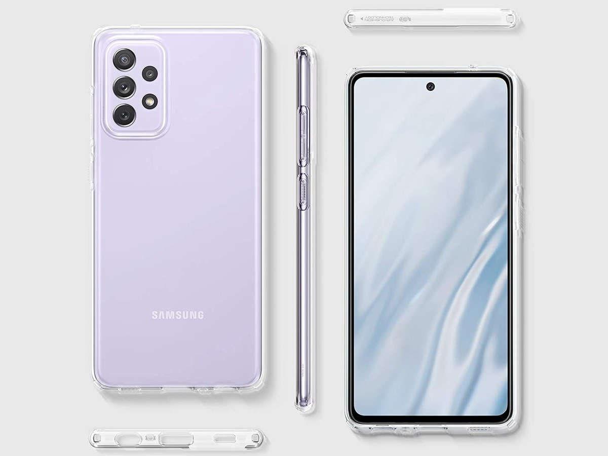 Etui Spigen Liquid Crystal do Samsung Galaxy A52 LTE/ 5G Crystal Clear - 6