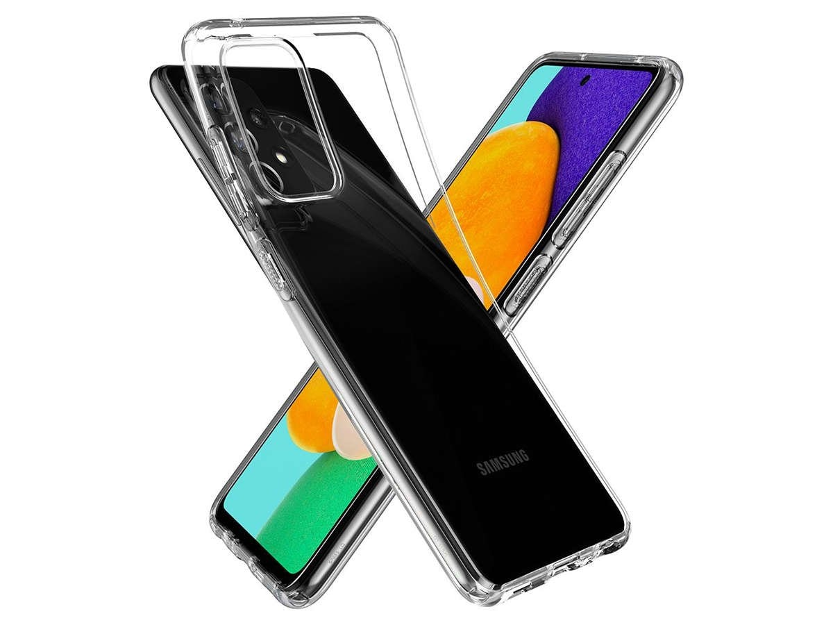 Etui Spigen Liquid Crystal do Samsung Galaxy A52 LTE/ 5G Crystal Clear - 5