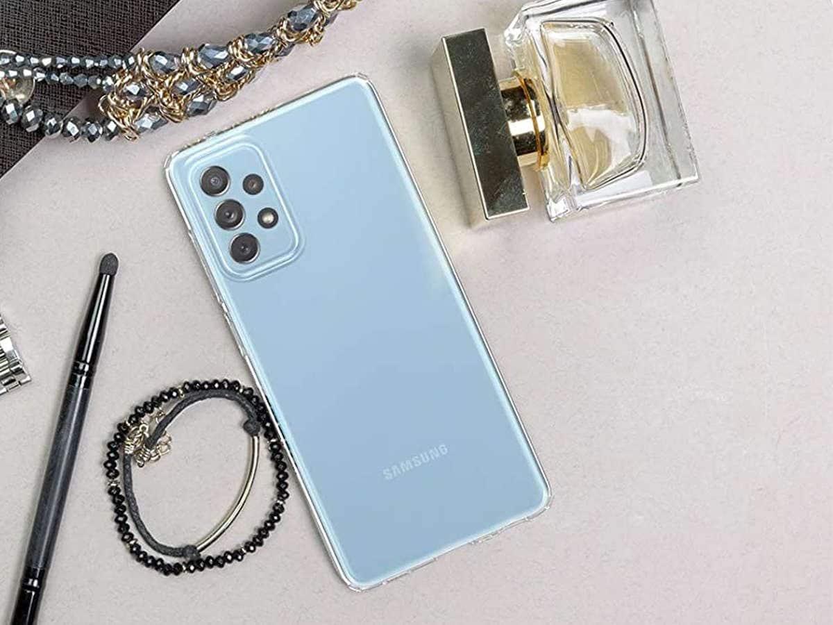 Etui Spigen Liquid Crystal do Samsung Galaxy A52 LTE/ 5G Crystal Clear - 8