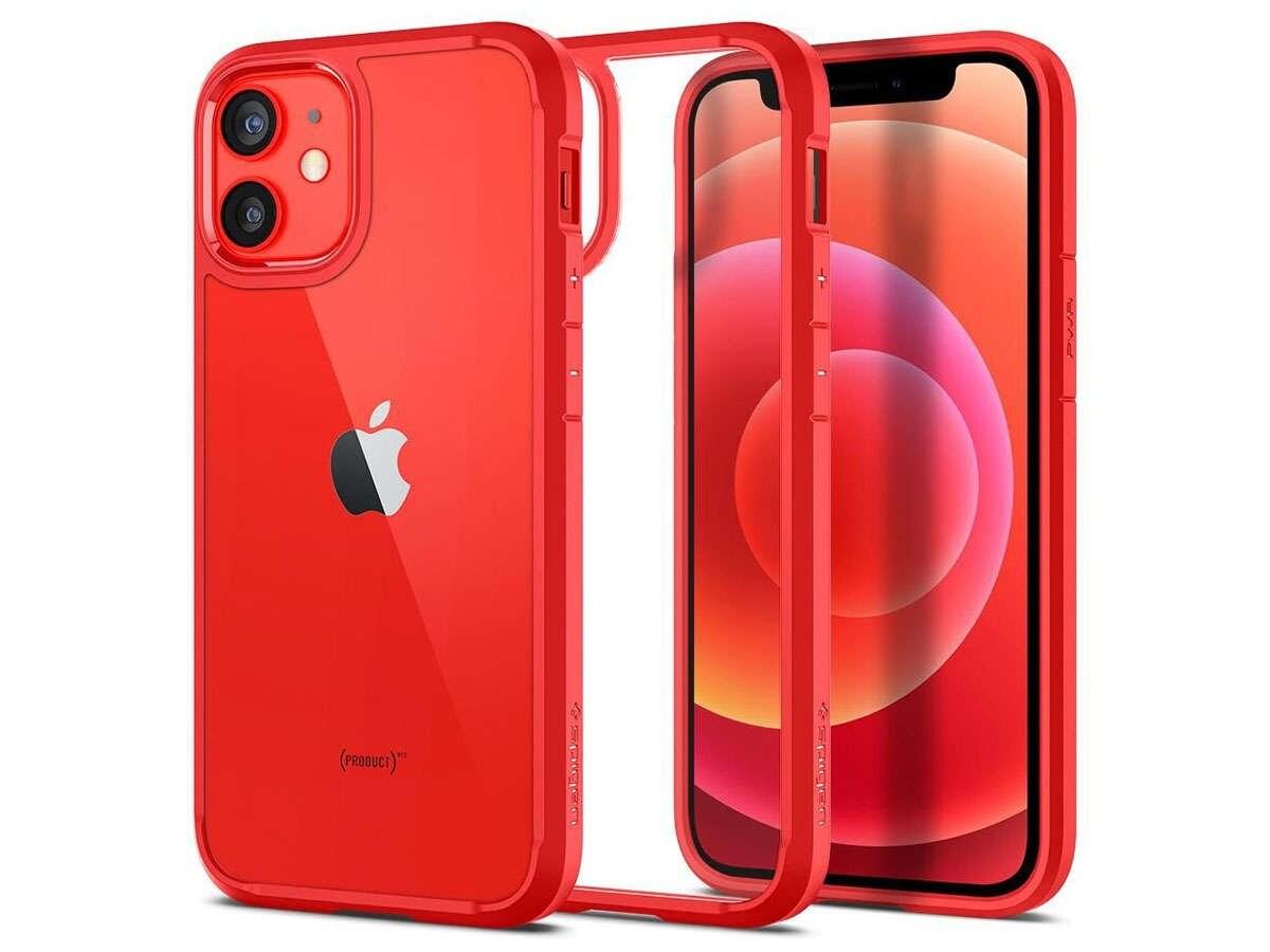 Etui Spigen Ultra Hybrid do Apple iPhone 12 Mini 5.4 Red - 1